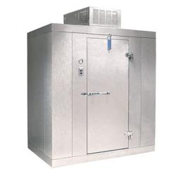 Nor-Lake - KLF7768-C - 6 ft x 8 ft x 7 ft-7 in Kold Locker™ Self Contained Walk-in Freezer w/Floor image