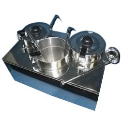 Alfa - FW9003 - Triple Countertop Food Warmer With Spigot image