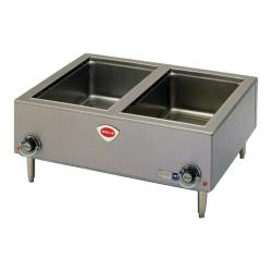 Wells - TMPT-D - Dual Full Size Food Warmer w/ Drain   image
