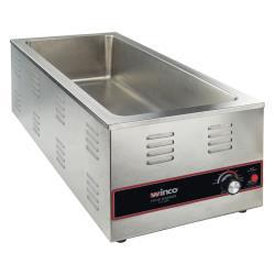 Winco - FW-L600 - (4) 1/3 Pan Countertop Food Warmer image