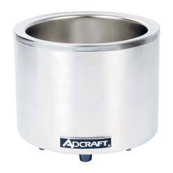 Adcraft - FW-1200WR - 7 Qt / 11 Qt Round Countertop Cooker/Warmer image