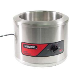 Nemco - 6102A - 7 Qt Round Countertop Food Warmer image