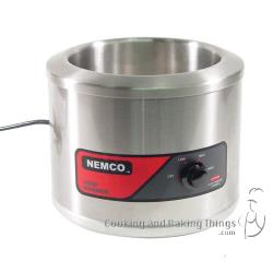 Nemco - 6103A - 11 Qt Round Countertop Food Warmer image