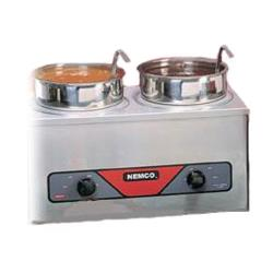 Nemco - 6120A - 4 Qt Twin Well Countertop Food Warmer image