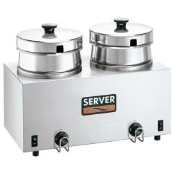 Server - 81200 - Twin 4 Quart Cooker/Warmer image