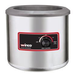 Winco - FW-7R250 - 7 qt Round Countertop Food Warmer image