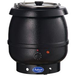 Globe - CPSKB1 - 10 Qt Black Soup Kettle Warmer image