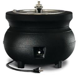Vollrath - 72165 - Colonial Kettles™ 11 Qt Round Soup Warmer Black image