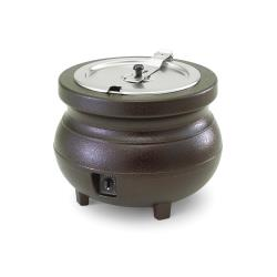 Vollrath - 72166 - Colonial Kettles™ 11 Qt Round Soup Warmer Burnt Copper image