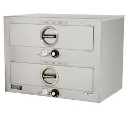 Toastmaster - 3B84DT72 - 2 Drawer 208/240V Free-Standing Warmer  image