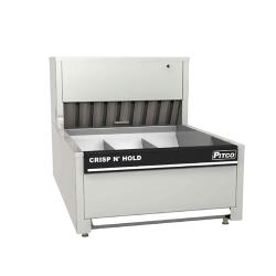 Pitco - PCC-14 - Crisp 'N Hold 2 Section Countertop Crispy Food Station image