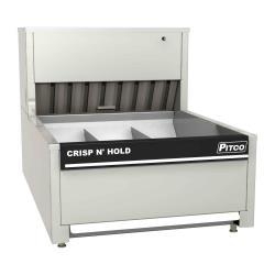 Pitco - PCC-18 - Crisp 'N Hold 3 Section Countertop Crispy Food Station image