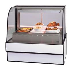 "Federal - CG5048HD - Curved Glass 50"" Hot Deli Case  image"