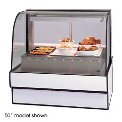 "Federal - CG7748HD - Curved Glass 77"" Hot Deli Case image"