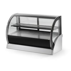 Vollrath - 40857 - 60 in Curved Glass Heated Display Cabinet image