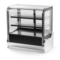 Vollrath - 40867 - 60 in Cubed Glass Heated Display Cabinet image