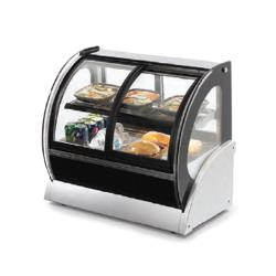 Vollrath - 40885 - 60 in Curved Heated Display Case with Front Access image