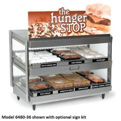 Nemco - 6480-24 - 24 in Countertop Hot Food Merchandiser image