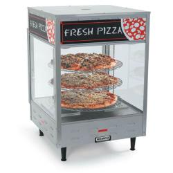 Nemco - 6451 - 18 in 3-Tier Pizza Merchandiser image