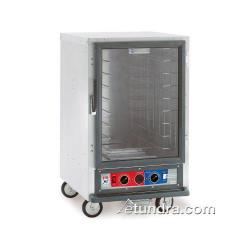 Metro/Intermetro - C515-CFC-4 - C5™ 1 Series Heated Holding & Proofing Cabinet w/Half Size Clear Polycarbonate Door image