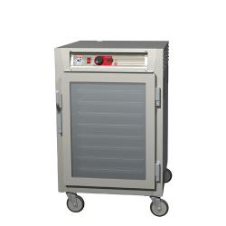 Metro/Intermetro - C595-SFC-U - C5™ 9 Series Heated Holding/Proofing Cabinet w/ Half Size Clear Door image