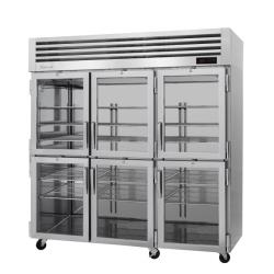 Turbo Air - PRO-77-6H-G - 6 Glass 1/2-Door PRO Series Reach-In Heated Cabinet image