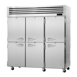 Turbo Air - PRO-77-6H-PT - 6 Solid 1/2-Door PRO Series Pass-Thru Heated Cabinet image