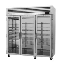 Turbo Air - PRO-77H-G - 3 Glass Door PRO Series Reach-In Heated Cabinet image