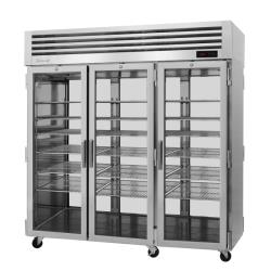 Turbo Air - PRO-77H-G-PT - 3 Glass Door PRO Series Pass-Thru Heated Cabinet image