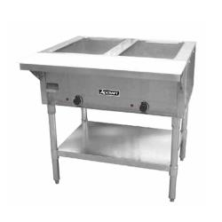 Adcraft - ST-120/2 - 33 in Double Well Hot Food Table image