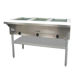 Adcraft - ST-120/3 - 48 1/2 in Three Well Hot Steam Table image
