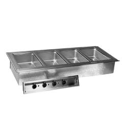 Delfield - N8759-D - 4 Pan 59 1/2 in Drop-In Heated Electric Food Well image
