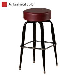 Oak Street - SL2135-RED - Red Button Top Stool w/Bucket Frame image