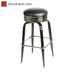 Oak Street - SL2138-RED - Red Retro Style Stool w/Bucket Frame image