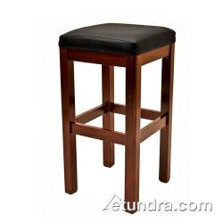 Oak Street - WB122-WA - Wood Stool w/Walnut Wood Seat image
