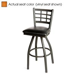 Oak Street - SL2163S-C - Windowpane Swivel Barstool w/Cherry Wood Seat image