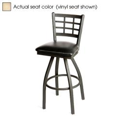 Oak Street - SL2163S-N - Windowpane Swivel Barstool w/Natural Wood Seat image