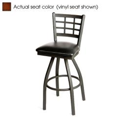 Oak Street - SL2163S-W - Windowpane Swivel Barstool w/Walnut Wood Seat image