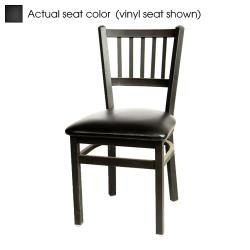 Oak Street - SL2090-B - Verticalback Chair w/Black Wood Seat image