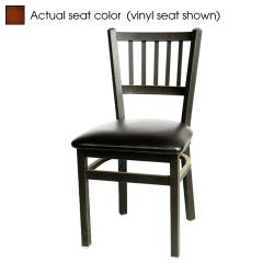 Oak Street - SL2090-W - Verticalback Chair w/Walnut Wood Seat image