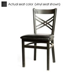 Oak Street - SL2130-B - Crossback Chair w/Black Wood Seat image