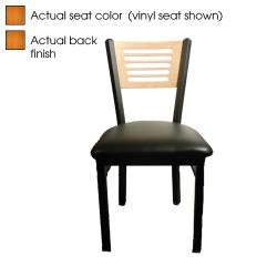 Oak Street - SL2150-5-C - 5-Line Cherry Wood Back & Seat Chair image