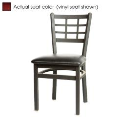 Oak Street - SL2163-M - Windowpane Chair w/Mahogany Wood Seat image