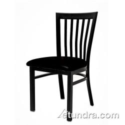 Oak Street - SL4279-B - Jailhouse Chair w/Black Wood Seat image