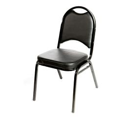 Oak Street - SL2089-BLK - Black Banquet Chair image