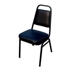 Winco - SC-2K - Stacking Chair with Black Pad image