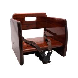GET Enterprises - BS-200-M - Mahogany Wood Booster Seat image