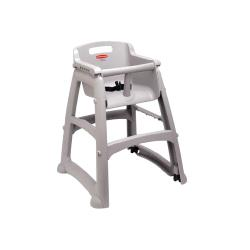 Rubbermaid - FG780608PLAT - Sturdy Chair™ Plastic Booster Chair image