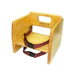 Winco - CHB-701 - Natural Finish Booster Seat image