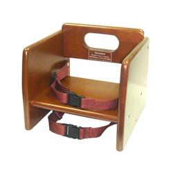 Winco - CHB-704 - Walnut Booster Seat image